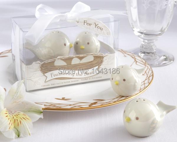 Wedding Favor Gift And Giveaways For Guest Love Birds Salt Pepper Shakers Door