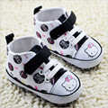 2015 Fashion Lovely Cartoon Baby Shoes First Walkers Hello Kitty Newborn Casual Shoes Antislip Infants Boys Girls Shoes