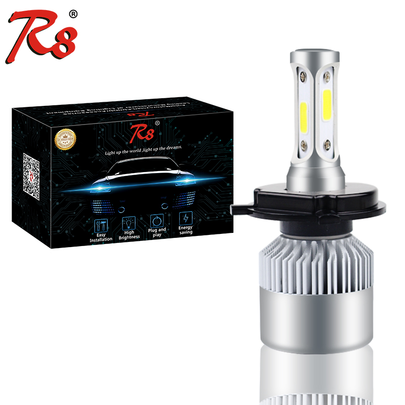 S2 H4 12V LED Motorcycle Motorbike Headlights HS1 Bike Fog font b Lamp b font Bulb