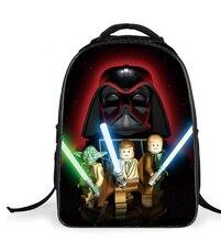 27e664d0cb0af 2018 Gorących Dzieci Plecak Star Wars Darth Vader Torby Szkolne Nastolatki  Tornister Mochila 3D Cartoon Dzieci