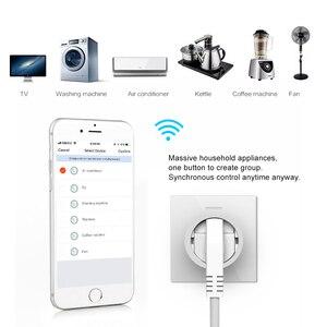 Image 4 - NEO Coolcam enchufe inteligente enchufe WiFi, 3680W, 16A, Control de energía, temporizador, enchufe de la UE, Control por voz, Alexa, Google, IFTTT