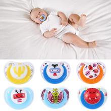 Милая Детская соска, безопасная, для новорожденных, для малышей, детская Силиконовая пустышка, соска-пустышка, противопылевая крышка, Прорезыватель для зубов для младенцев