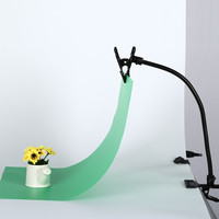 TRUMAGINE Backdrops Holder Clamp Clip Photography Reflector Clamp Pipe Lighting Stand Flex Arm Photo Fotografica Accessories