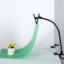 TRUMAGINE ฉากหลัง Clamp คลิปสะท้อนแสง Clamp โคมไฟท่อขาตั้ง Flex Arm Photo Fotografica อุปกรณ์เสริม