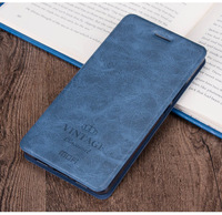 Business Wallet Pouch For Xiaomi Mi 6 Mi6 Card Holder Flip Cover Phone Case Inner TPU