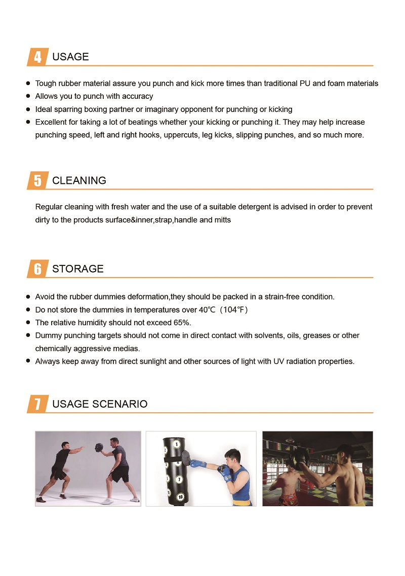 punching pad instructions 2