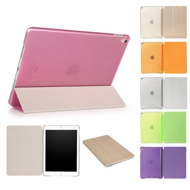Ultra Slim Coque Đối Với iPad 2017 9.7 A1822 A1823 Trường Hợp Thông Minh Magnetic Đứng Funda đối với iPad 9.7 2017 Thông Minh Lật cover 9.7''