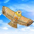 1 Компл. Горячие Китайский Золотой Орел Кайт с Ручкой Линии Кайт Игры Птица Кайт Воздушных Змеев Оптовая