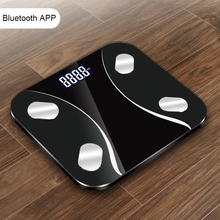 2019 Hot Smart Bathroom Weight Scale Floor Electronic Body Fat Scale Digital Human Weight Mi Body Composition Scale Bluetooth