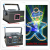 A 1X 500MW RGB LED Stage Light Laser DMX 512 Lighting Laser Projector Party Club DJ