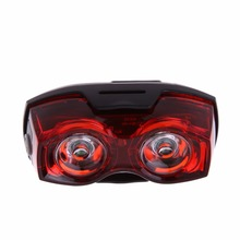 Bright Bike Bicycle Lights Cycling 2 LED 3 Mode Flashing Light Rear Tail Lights
