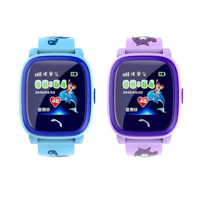 New Child GPS Smart watch Tracker  IP67 High-definition Touch Screen Anti-Lost Monitor Kids GPS GSM Swim SOS CallDropshipping smart baby watch q60s детские часы с gps голубые