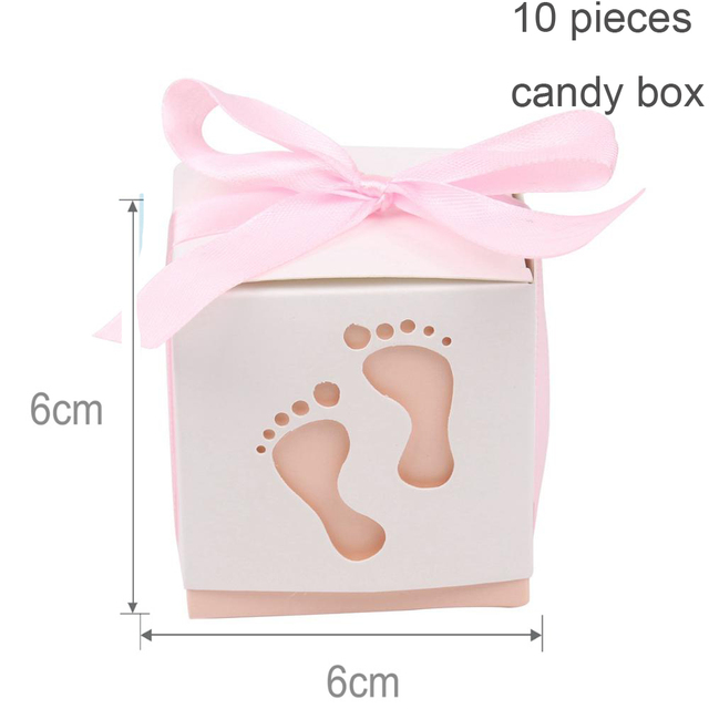 10pc Pink candy box Presents for one year old boy 5c64f7ebefc29