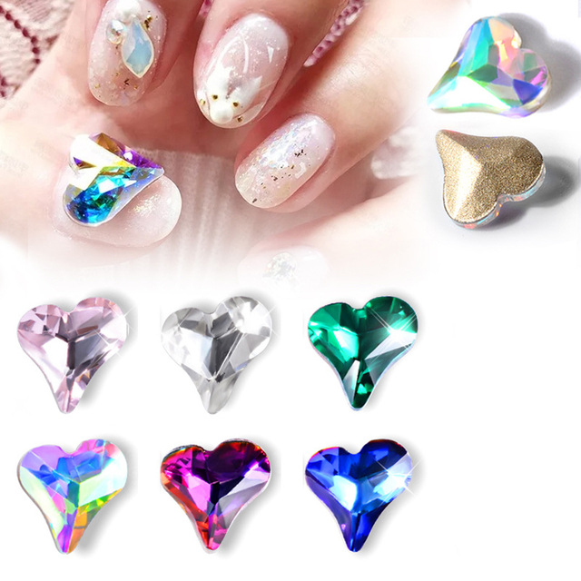 10pcs/lot Japan Korean Nail Art Decoration Bling Glitter Fancy Weet ...