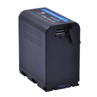 1Pc 7800mAh SSL JVC70 JVC70 Camcorder Batteries with USB Output for for JVC SSL JVC70 SSL JVC70 JVC GY HMQ10 GY HM200 GY LS300