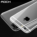 ROCK Ultrathin TPU Case For iPhone 6 6s 6 plus 4.7 5.5'' Transparent Soft Clear Slim Jacket shell Brand phone cover case
