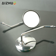 For Honda CB500 CB600 CB750 CB900 CB1000 CB1300 Motorcycle Rearview Mirrors 8/10 Mm Stainless Steel Motor Accessory Side Mirror