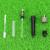 KELUSHI 10 PCS Alta Qualidade Ftth Rápida Montagem Fria De Fibra Óptica Conector FC/UPC FTTH Rápida Fusão De Fibra FC Adaptador Splicer