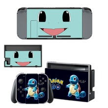 Let's Go Pokemon Game Skin Sticker For NS For Limited Nintendo Switch Console Jon-Con Controller Vinyl Protector Cover