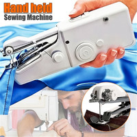 2019 Mini Portable Handheld sewing machines  Quick Stitch Sew needlework Cordless Clothes Fabrics Electric Sewing Machine