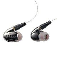 Newest ET2201 Hybrid In Ear Earphone 2BA With 2DD 4Unit HIFI Bass Metal Shell Earphones Headset