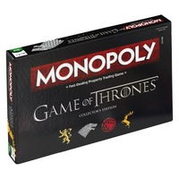 Monopoly Game of Thrones Party Games Family Games Interactive Board Games Puzzle Toys for Adults Juegos de mesa Card Game