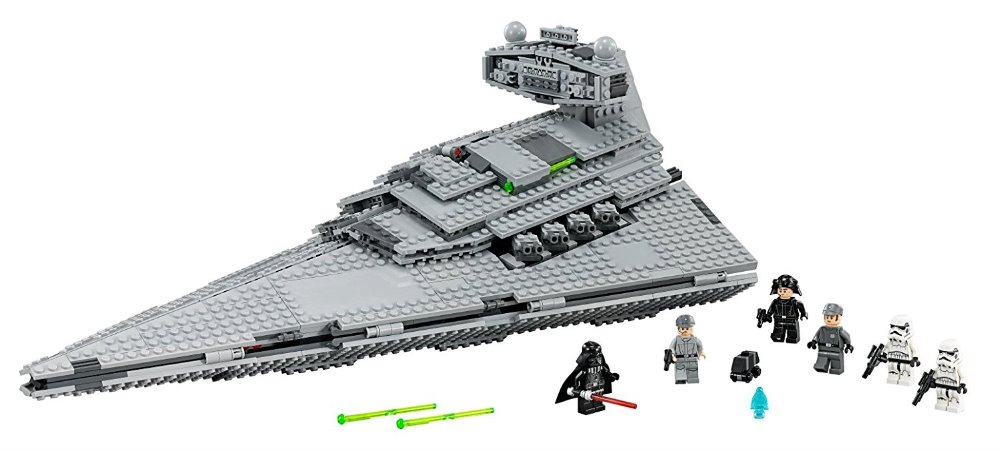 Lepin  05062 Star Series War The Super Star Fighting Destroyer Set Educational Building Blocks Bricks Compatible Toy Gift 75055 rollercoasters the war of the worlds