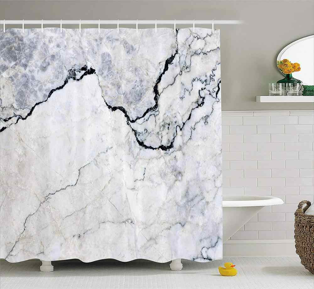 marble black granite marbling texture white gray pattern abstract blue ink liquid sand brown bathroom shower curtains with hooks