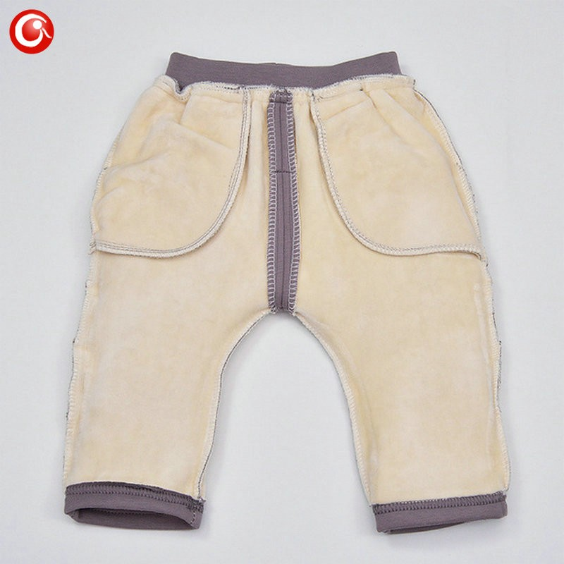7-24M Baby Winter Tights For Boys Warm Plushed Kids PP Pants For Girls Infantil Bebes Thicken Trousers Clothes 2016  (27)