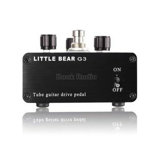 Image 4 - Pouco urso g3 6n4 j tubo de vácuo guitarra baixo overdrive drive ganho pedal stomp effector amplificador