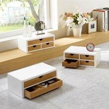 Простая деревянная мебель Ящик Стола Ящик Для Хранения Мода офис деревянный ящик для хранения