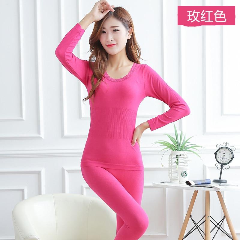 Dropwow Women tunic Winter Thermal Underwears Fashion Seamless ... 44c3de43636d