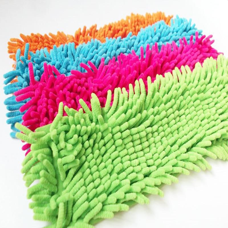 4 հատ Նոր ժամանում Լավագույն գինը Մաքրման պահոցում փոշի շվաբր կենցաղային Microfiber Coral Mop Head Replication տեղավորվում է մաքրման համար