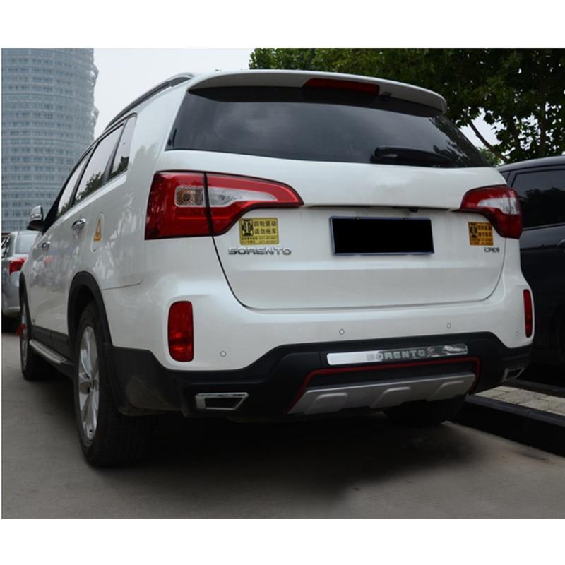 2018 Kia Sorento Exterior: High Quality Plastic ABS Chrome Front+Rear Bumper Cover