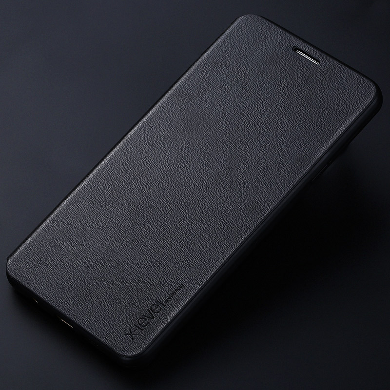 Skórzane etui z klapką X-Level Book do Samsung Galaxy A5 2016 A510 - Części i akcesoria do telefonów komórkowych i smartfonów - Zdjęcie 5