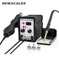 YIHUA EU Plug 220V 65W Electrical Portable Thermostat Soldering Iron Welding SMD Rework Station Solder Stand