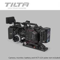 Tilta ES T86 Rig Kit for Panasonic EVA1 Cage FF T03 Follow focus MB T05 Matte box Baseplate V lock/ Anton mount Extend arm