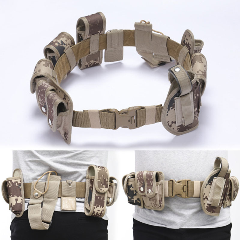 Police Belt Equipment Gear Special Forces Beltstan Military Tactical Belt SWAT Duty Waistband Army Combat Survival Waistband