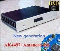 DC100 Decoder AK4497 DAC Supports DSD Upgrade AK4495SEQ