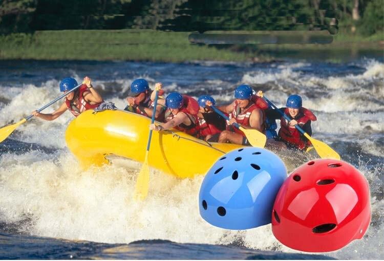Prix pour Réglable Rafting Casque kayak Sports protéger driftting d'eau sport wakeboard kitesurf Avec La Certification ce