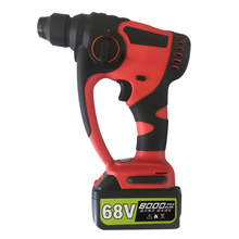 Professional Lithium Battery Rotary Hammer Drill Brushless Cordless Electric Screwdriver Power Tools