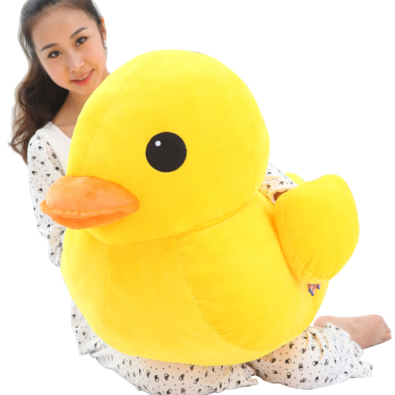 120cm Toys Kawaii Big Duck Doll Plush Animal Toys Soft Stuffed Toys High Quality Dolls Brinquedos Dolls For Kids Birthday Gift new hot sale plush stuffed toys big yellow duck plush stuffed duck doll for children cotton soft free shipping