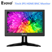 Eyoyo 7 inch Portable 1280x800 LCD LED Screen Display HDMI TV Monitor, Kitchen with HDMI/VGA/AV/USB Input