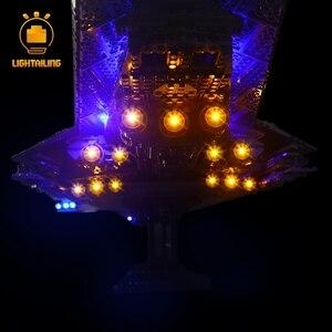 Image 5 - LIGHTAILING LED Light Kit For Star War Series Super Star Destroyer Building Block Light Set Compatible With 10221