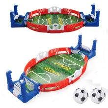 Mini máquina de tabuleiro para futebol, jogo de futebol e bola de brinquedo educacional, para atividades ao ar livre, crianças, tabelas, brinquedo para meninos