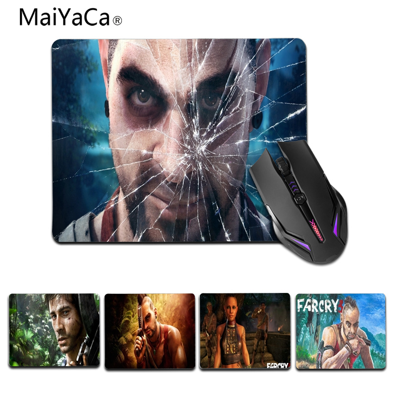 MaiYaCa Simple Design Far Cry 3 Vaas Rubber Mouse Durable Desktop Mousepad Size for 180x220x2mm and 250x290x2mm Small Mousepad