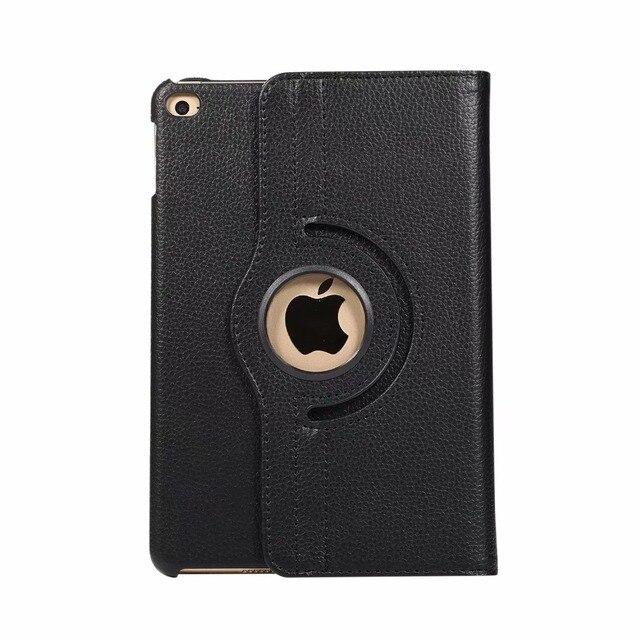 360 degrés rotatif en cuir dunité centrale étui intelligent pour Apple iPad Mini 5 Mini5 7.9 pouces 2019 nouvelle version tablette PC housse