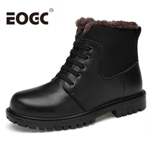 Size 38~47 Handmade Warm Men Winter Boots Genuine Leather men shoes Autumn men Ankle boots Russian Style Men Snow Boots super warm men boots two style high quality autumn and winter shoes handmade retro men shoes genuine leather snow boots shoes
