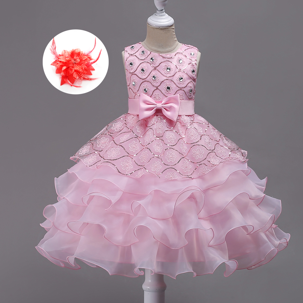 Birthday Big Girls Evening Dress Party Clothes for Children 3 4 5 6 7 8 9 To 15 Years Girls Flower Girl Dresses Wedding Gowns new summer flower girl dress ball gowns kids dresses for girls party princess girl clothes for 3 4 5 6 7 8 year birthday dress
