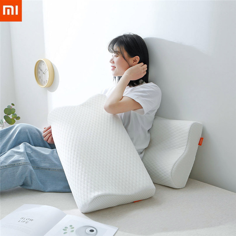 XIAOMI CHARPA Ze ro Degree Hardness Natural Slow Rebound Memory Cotton Pillow Super Soft Antibacterial Neck Support Sleep CareXIAOMI CHARPA Ze ro Degree Hardness Natural Slow Rebound Memory Cotton Pillow Super Soft Antibacterial Neck Support Sleep Care